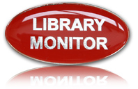 Library-Monitor-Badge