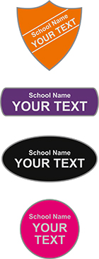 school-name-with-your-text